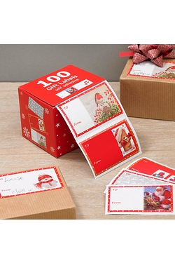 100 Gift Label Dispenser