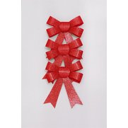 Glitter Bow Pack - Red