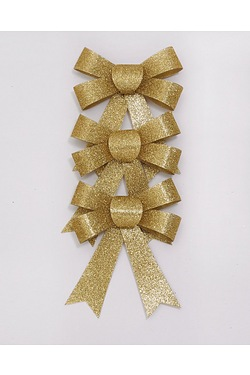Glitter Bow Pack - Gold
