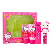 Hello Kitty Pink Love Shower Gel Set