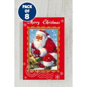 8 Traditional Santa Tags