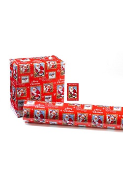 6m Traditional Santa Wrap and Tags ...