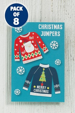 8 Christmas Jumpers Tags