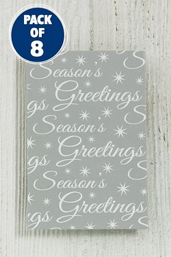 8 Seasons Greetings Gift Tags