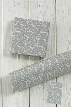 6m Seasons Greetings Wrap and Tags ...