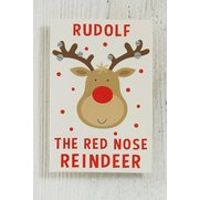 Rudolf Kids - 10 Self Adhesive Tags