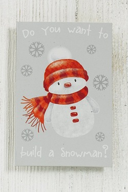 Do You Want To Build A Snowman Tags