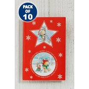 10 Christmas Bears Kids Self-Adhesi...