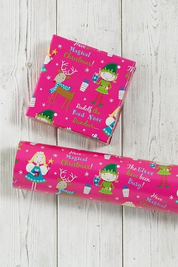 Pink Fairy and Elf Kids Wrap