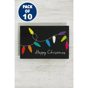 10 Festive Lights Adult Tags