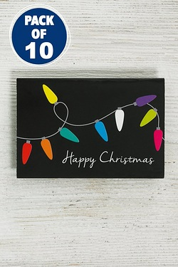 10 Festive Lights Tags