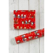 Winter Fun Roll Wrap - Red