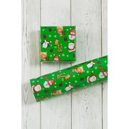 Winter Fun Roll Wrap - Black