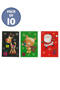 10 Winter Fun Trio Tags