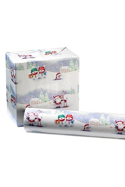 18m Roll Dispenser - Santa Scene