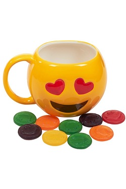 Emoji Mug And Sweets - Love