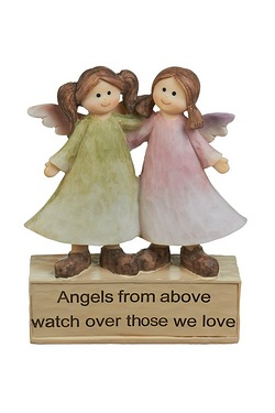 Angelic Thoughts Figurine - Angels