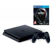 PS4: 500GB Slim Console + Mass Effe...