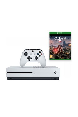 Xbox One S White 500GB Console + Ha...