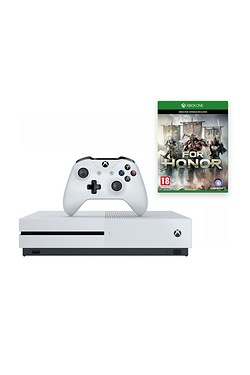 Xbox One S White 500GB Console + Fo...