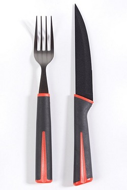 12-Piece Knife & Fork Set