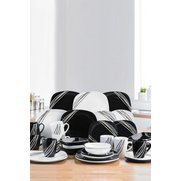 16+16-Piece FREE Black/White Lined ...