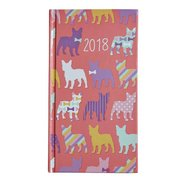 Pocket Diary 2018 - Pink Dog