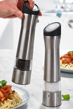 Stainless Steel Salt & Pepper Mills