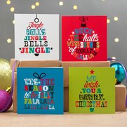 16 Brights Wording Mini Cards