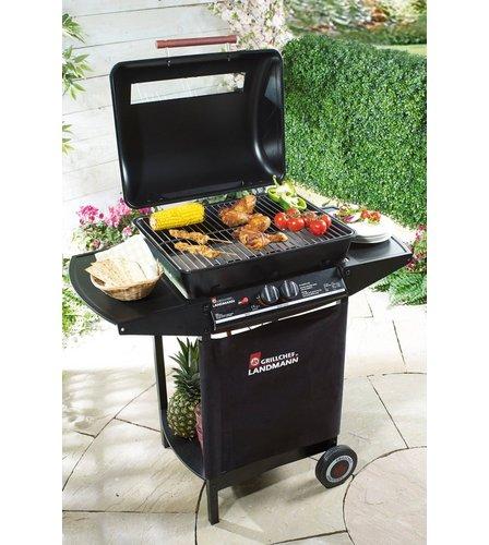 landmann grill chef dual burner gas bbq studio. Black Bedroom Furniture Sets. Home Design Ideas