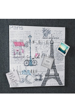 Paris Canvas With Photo Holders