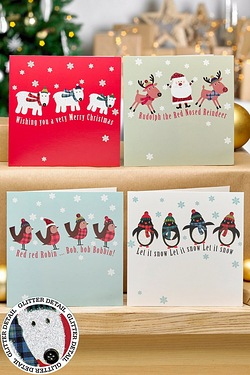 12 Winter Fun Cards