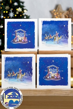 12 We Three Kings Cards