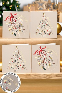 12 Oh Christmas Tree Cards