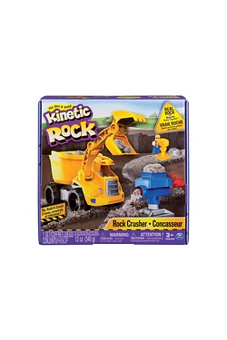 Kinetic Sand Rock Crushing Set