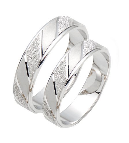 Image for White Gold Wedding Band Offer from ace