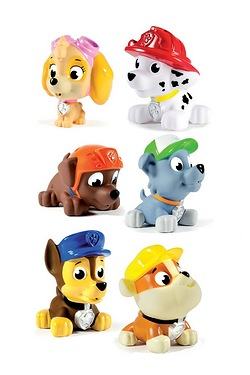Pack Of 6 Paw Patrol Pup Squirters