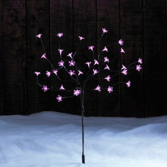 "Image for 77cm (30¼"") Multi-Function LED Solar Powered Blossom Stake from ace"