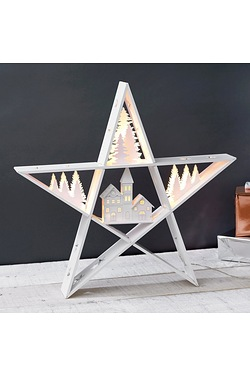 LED Village Star