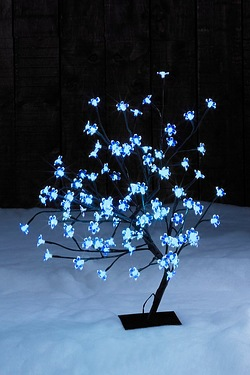 2ft LED Multi-Function Blossom Tree