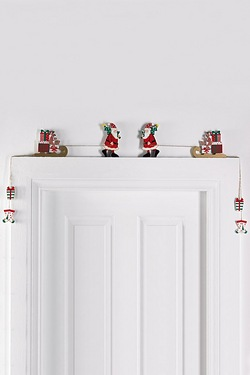 Santa Overdoor Decorations