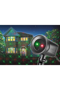 Outdoor Laser Projector