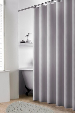 2-Piece Shower Curtain and Non-Slip Mat Set