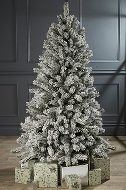 Frosted Silverton Pine Tree - Unlit