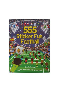 555 Sticker Fun -Football