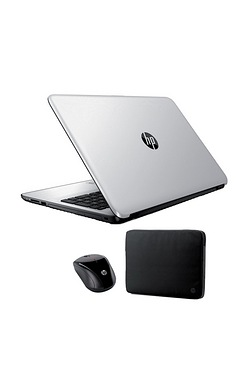 "HP 15.6"" Laptop With Case/Mouse"