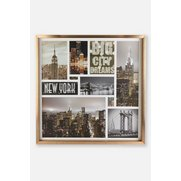 New York Framed Montage