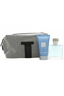 Azzaro Chrome Gift Set