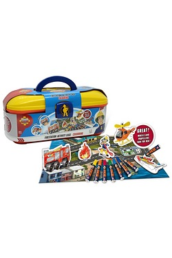 Fireman Sam Fire Station Activity Case