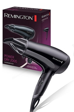 Remington D3010 Power Dry Hairdryer 2000W